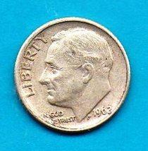 1962 D Roosevelt Dime - Silver - $6.00