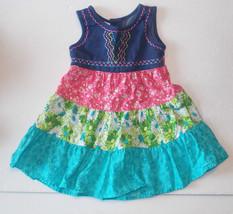 WonderKids Toddler Girls Sun Dress Size 24M EUC - $9.45