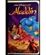 Aladdin Walt Disney Black Diamond Edition! VHS, 1993 - $12.95