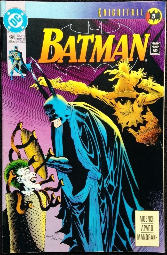 BATMAN #520 VERY FINE 1995 DC COMICS