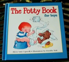 The Potty Book for Boys - $6.00