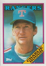 Charlie Hough 1988 Topps Card #680 - $0.99