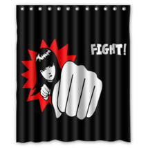 Emily The Stanger1 #02 Shower Curtain Waterproof Made From Polyester - $29.07+