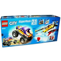 LEGO CITY Super Pack 2-in-1 66636 Buiding Toy for Kids Truck & Plane 129... - $49.99