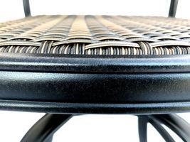 6 outdoor dining chairs Santa Clara cast aluminum powder coated patio furniture. image 3