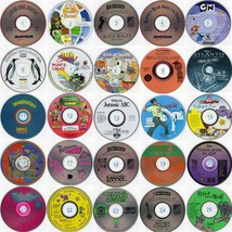 Lot of 24 Kids CDs (Choose from 50 Titles) Less than $1.50 ea FREE CD/DVD Wallet - $31.98