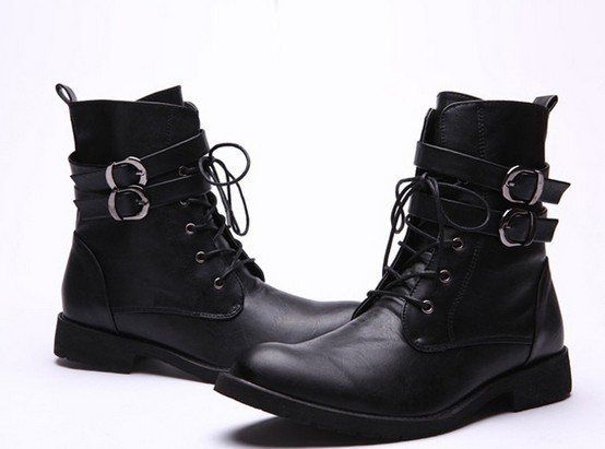 4caba7f3321 New Handmade Mens MILITARY LEATHER BOOT, MEN COMBAT BOOTS, Men Leather Boot
