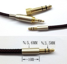 new 3.5mm Replacement Headphone Cable For Marshall monitor NAD VISO HP50... - $11.57+