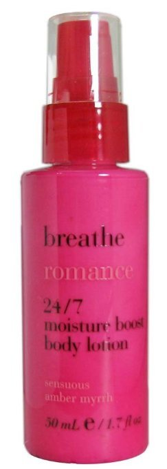 Bath & Body Works Breathe Romance Sensuous Amber Myrrh Boost Body Lotion, 1.7 oz