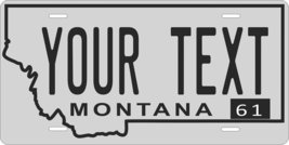 Montana 1961 Personalized Tag Vehicle Car Auto License Plate - $16.75