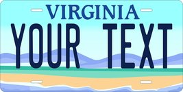 Virginia Scenic Personalized Tag Vehicle Car Auto License Plate - $16.75