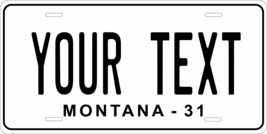 Montana 1931 Personalized Tag Vehicle Car Auto License Plate - $16.75
