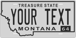 Montana 1964 Personalized Tag Vehicle Car Auto License Plate - $16.75