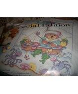 Bucilla Sailor Bear Crib Cover 64548 - $50.00