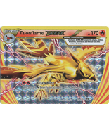 Talonflame Break 21/114 Break Rare XY Steam Siege Pokemon Card - $3.99