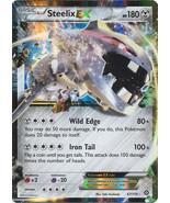 Steelix EX 67-114 Ultra Rare XY Steam Siege Pokemon Card - $4.98