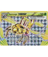 Yanmega Break 8/114 Break Rare XY Steam Siege Pokemon Card - $3.89