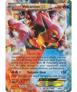 Volcanion EX 26/114 Ultra Rare XY Steam Siege Pokemon Card - $6.98