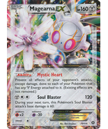 Magearna EX 75/114 Ultra Rare XY Steam Siege Pokemon Card - $3.99