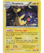 Ampharos 40/114 Holo Rare XY Steam Siege Pokemon Card - $1.09