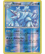 Avalugg 37/114 Rare Reverse Holo XY Steam Siege Pokemon Card - $1.09