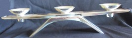 Vintage Kurt Radtke Designed Ikora Silver Art Candle Holder (1961) - $70.00