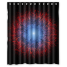 Fantasy Space #02 Shower Curtain Waterproof Made From Polyester - $29.07+
