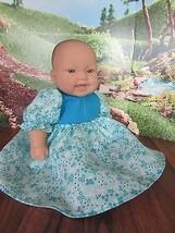 """doll clothes 14-16"""" dress flower berenguer/amer... - $11.88"""
