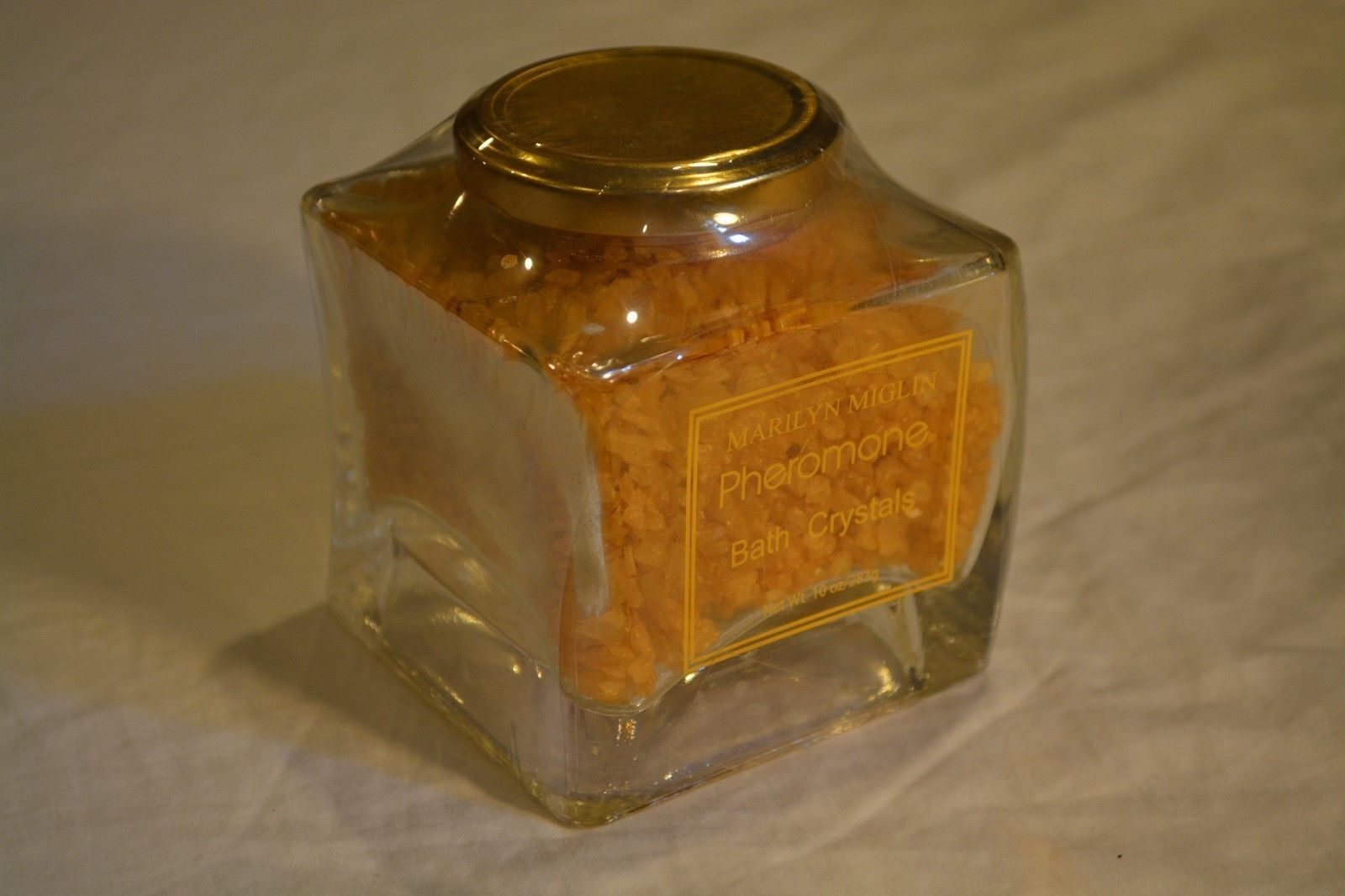 Marilyn Miglin Pheromone Bath Crystals 10 oz Glass Jar