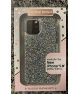 Fellowes IPhone 11 Pro- Sleek Profile Glitter Protective Case - $12.86