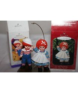 Hallmark Keepsake Mop Top Wendy AND Mop Top Billy Christmas Ornament  - $21.70