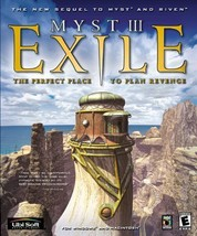 Myst III: Exile  (PC, 2001)  4 DISC Puzzle Game  for  Windows - $11.29