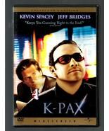 K - PAX  * KEVIN SPACEY - JEFF BRIDGES *  DVD  WIDESCREEN COLLECTORS EDI... - $3.00
