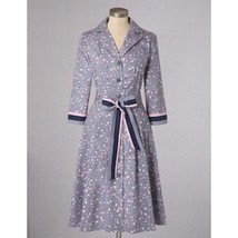 NWT Boden Stunning  Riviera Shirt Dress Floral ... - $39.17