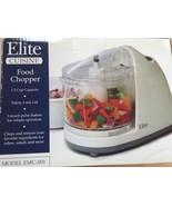Elite Cuisine Food Chopper 1.5 Cup Model EMC-00... - $12.50