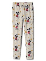 Gap Kids Girls Leggings Disney 6 7 8 10 12 14 16 Mickey Mouse Oatmeal Ta... - $19.99