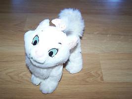 Walt Disney World Aristocats Marie White Kitten Kitty Cat Bean Bag Plush Animal - $16.00