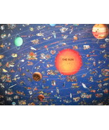 Great American Puzzle Factory 2005 Map Of The Solar System Factory Seale... - $13.99