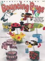 Bouncing Bugs, Whimsical Home Decor Plastic Canvas Pattern Booklet TNS 9... - $4.95