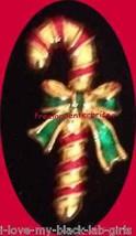 Christmas PIN AVON Candy Cane Tac Pin Goldtone & Enamel in Red Basket @1... - $19.75