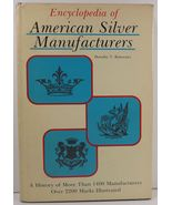 Encyclopedia Amer Silver Manufacturers Dorothy T. Rainwater - $19.99