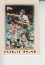 Charlie Hough 1988 Topps Mini Card #36 - $0.99