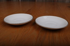 2 Salem China International Ironstone Saucer En... - $12.19