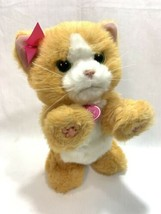 FurReal Friends Daisy Plays Interactive Orange Kitty Cat Plush Meows Pur... - $19.79