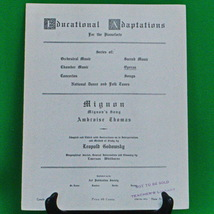 1915 Art Publication Society Teacher's Library Sheet Music, Issue 526 - $2.95