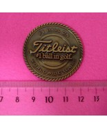 Titleist Golf Ball Premium Marker Copper NOT FOR SALE Rare  - $60.39
