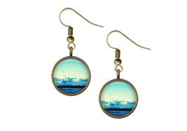 St Augustine Sailing Wire Back Earrings  - $14.95