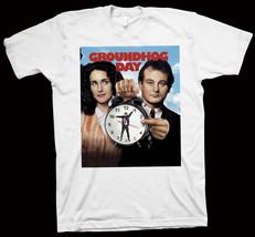 Groundhog Day T-Shirt Harold Ramis, Bill Murray, Andie MacDowell, Movie ... - $14.99+