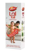 Dabur Lal Tail Ayurvedic Baby Massage Oil Stronger Bones Muscles, 2x 100 ml - $18.99