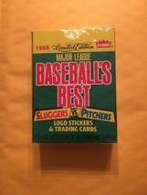 1988 Fleer Limited Edition MLB Baseballs Best Sluggers Vs Pitchers 44 Ca... - $4.79